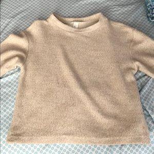 light brown H&M sweater